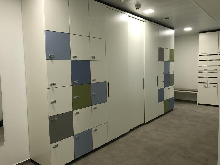 Schließfachschränke und Garderobenschrankanlage Stuttgart