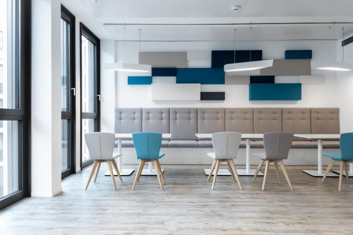 Sitzbank Stuttgart open office