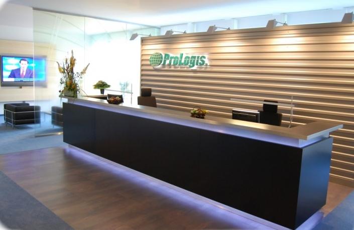 Empfang airport office Düsseldorf