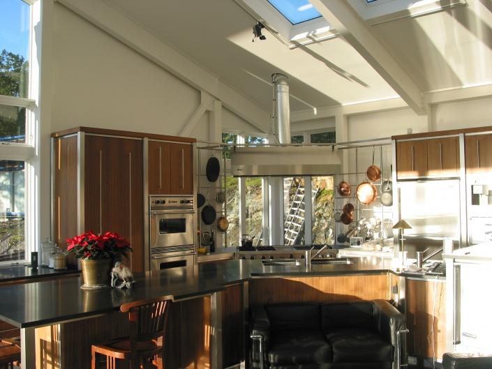 Küche im Loft auf Vancouver Island