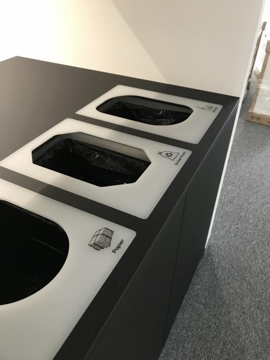 Kopier- und Entsorgungsstation